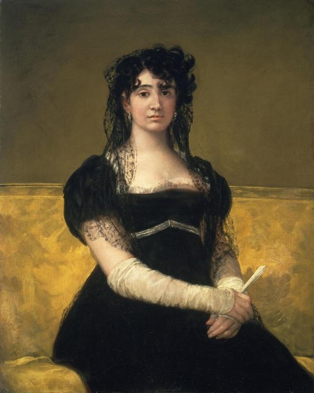 Портрет актрисы Антонии Сарате, Франсиско де Гойя