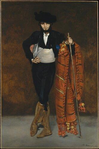 Мальчик со шпагой, Эдуард Мане, 1861