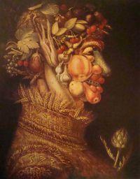 «Зима», Джузеппе Арчимбольдо — описание картины