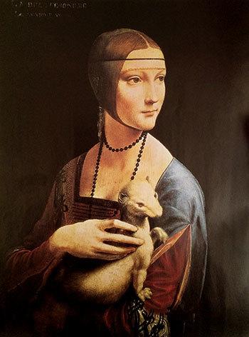 Картина «Дама с горностаем», Леонардо да Винчи — описание