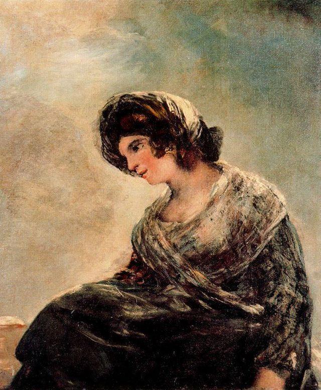 Портрет графини Карпио, маркизы де ла Солана - Франсиско де Гойя