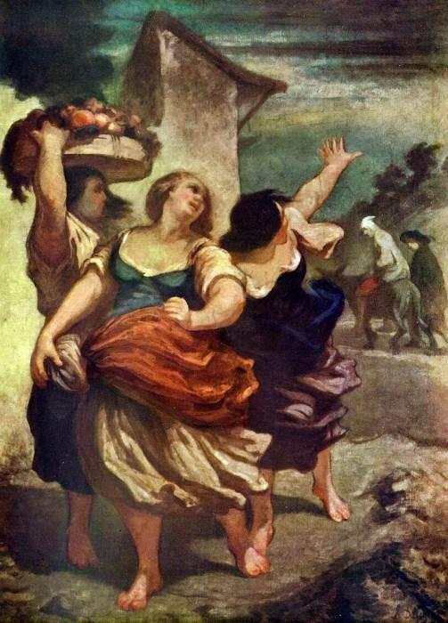 «Дон Кихот», Оноре Домье — описание картины