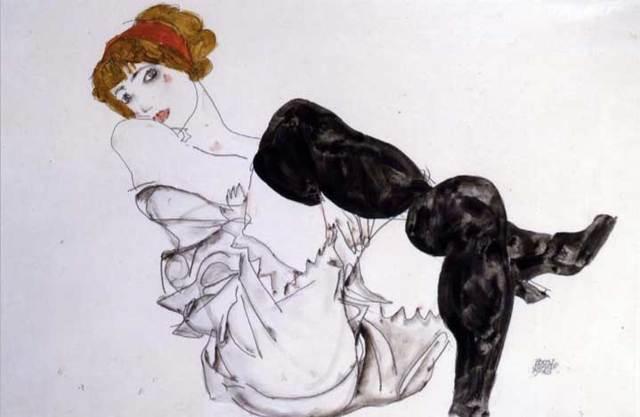 Беременная женщина и смерть - Эгон Шиле