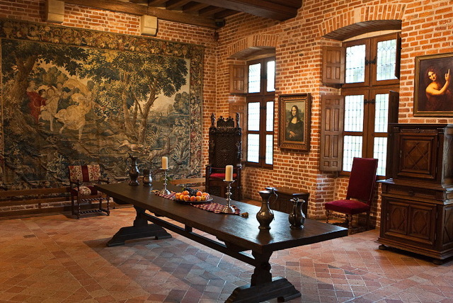 Дом-музей Леонардо да Винчи в замке Кло-Люсе, Франция