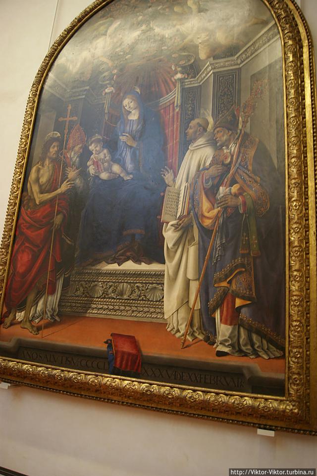 Видео экскурсия по галерее Уффици » Музеи мира и картины известных художников