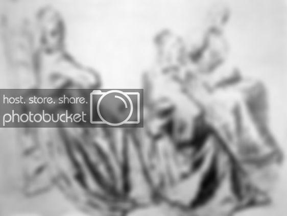Затруднительное предложение,  Антуан Ватто - описание картины