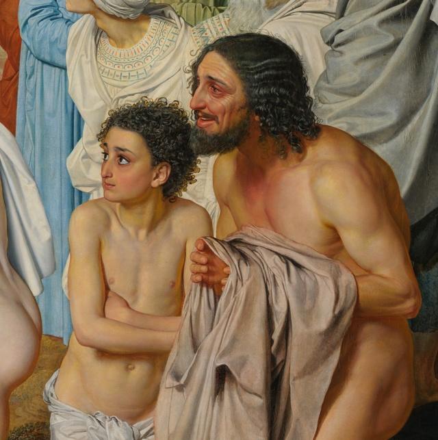 «Явление воскресшего Христа Марии Магдалине», Иванов — описание картины