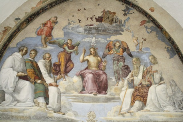 Мадонна с Младенцем и святыми (Алтарь Колонна), Рафаэль