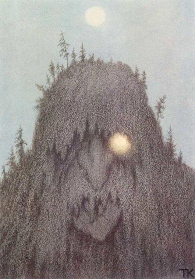 «Водяной», Теодор Киттельсен — описание картины