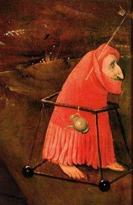 «Смерть скупца», Иероним Босх — описание картины