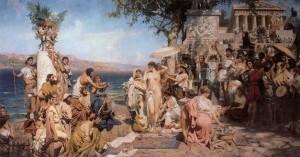 «Христос и самаритянка», Семирадский — описание картины