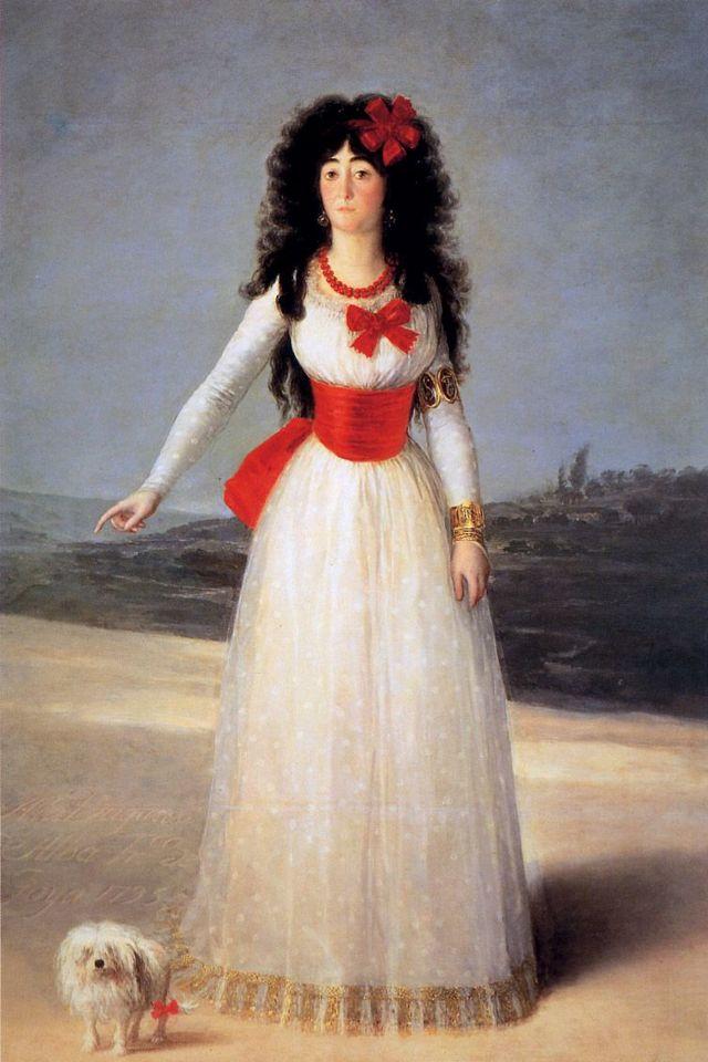 Портрет доньи Терезы Луизы де Суреда, Франсиско де Гойя