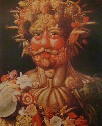 «Весна», Джузеппе Арчимбольдо — описание картины
