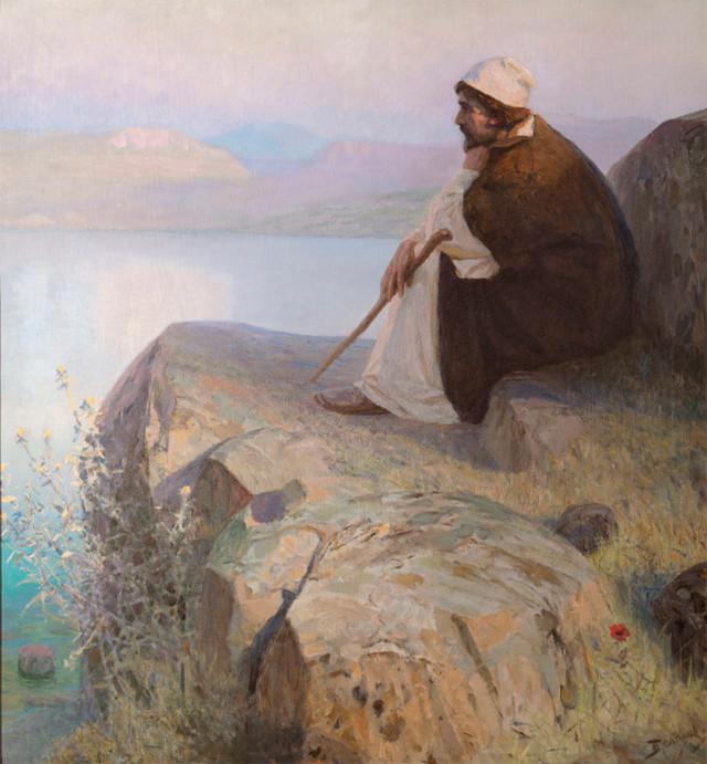 Воскрешение дочери Иаира, Поленов - описание картины