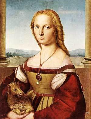 Мадонна со щеглом, Рафаэль Санти, 1507