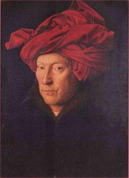 Женский портрет, Робер Кампен, около 1435
