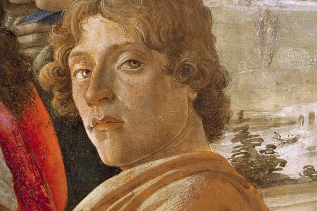 «Портрет неизвестного с медалью», Сандро Боттичелли — описание картины