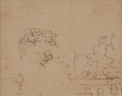 Одеяние невесты, Макс Эрнст - описание картины