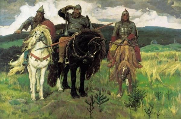 Описание картин Васнецова, биография Виктора Михайловича