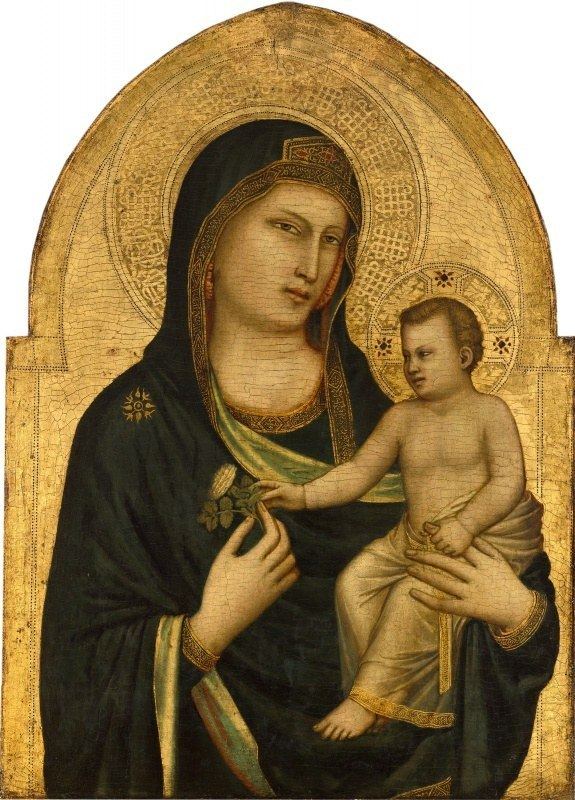 «Мадонна с младенцем», Джотто ди Бондоне — описание картины
