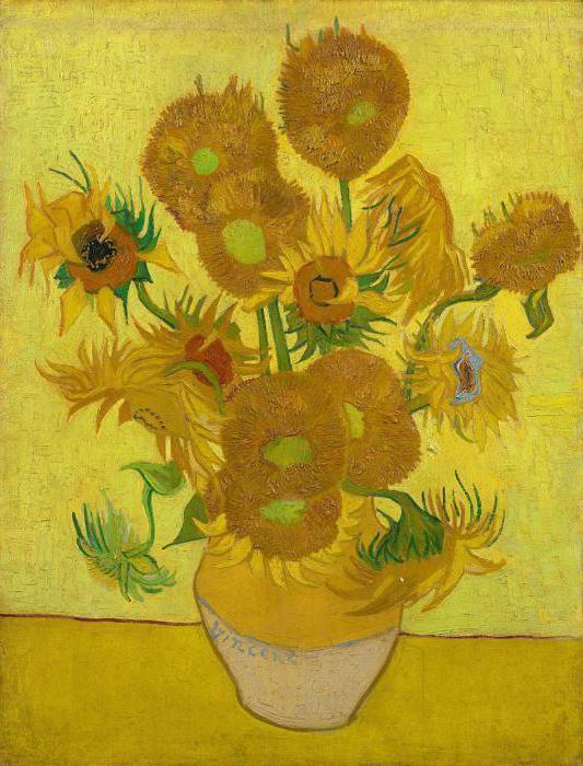 Картина «Подсолнухи», Винсент Ван Гог — описание картины