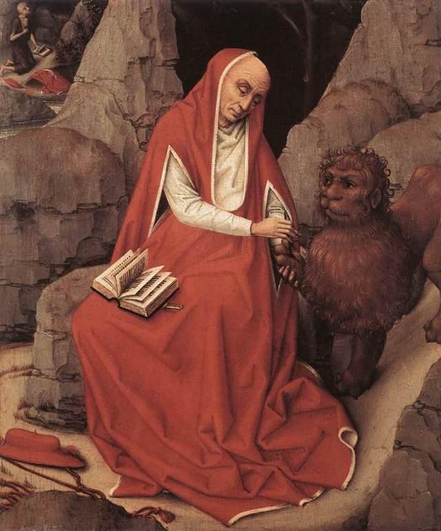 «Святой Иероним», Антонио де Переда — описание картины