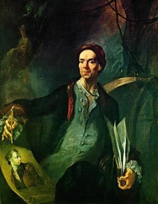 Автопортрет в возрасте 58 лет, Антон Граф, 1794
