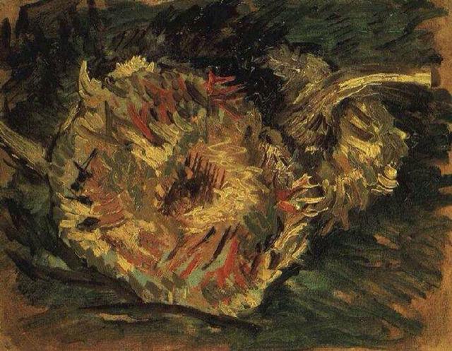 Подсолнухи, Поль Гоген - описание картины