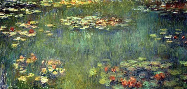 Картина «Водяные лилии», Клод Моне — описание