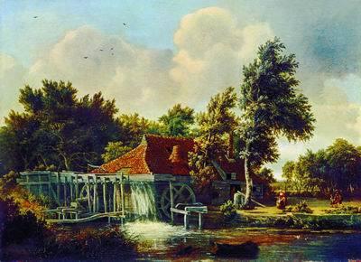 Дорога в лесу, Мейндерт Хоббема, 1670