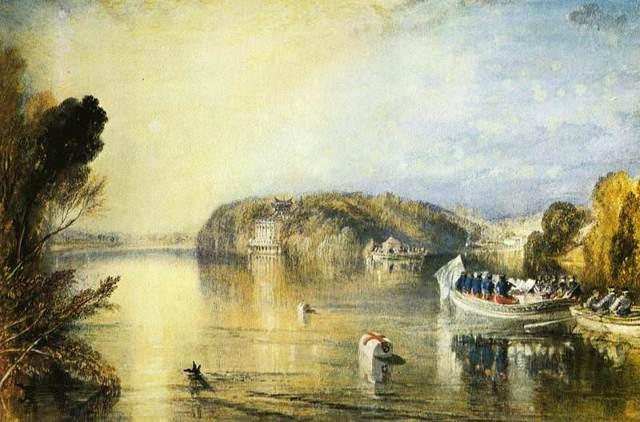 Вид Большого канала в Венеции - У. Тёрнер, 1835