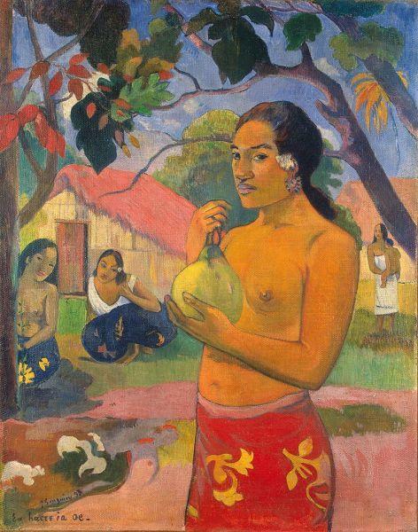 Сбор плодов, Поль Гоген, 1899