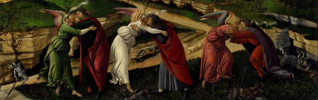Мистическое Рождество, Сандро Боттичелли, 1501