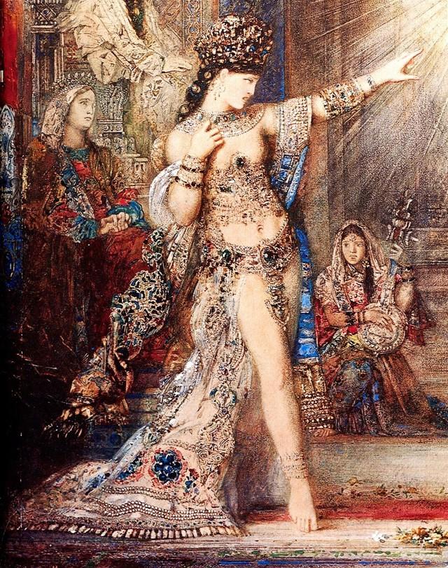 Саломея, танцующая перед Иродом, Гюстав Моро