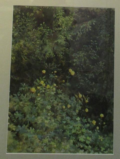 Абрамцево. Летний пейзаж, Репин - описание картины