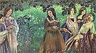 Картина Водоем, В. Э. Борисов-Мусатов