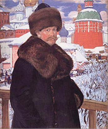 «Ярмарка», Кустодиев — описание картины