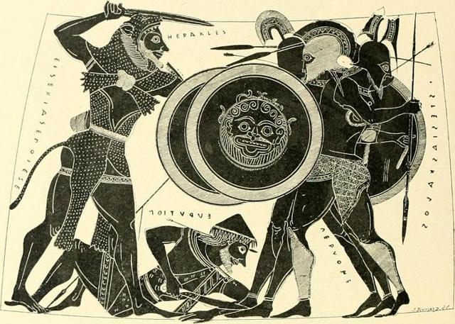 Геракл и лернейская гидра, Гюстав Моро - описание картины
