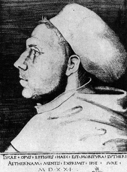 Портрет молодой девушки (Магдалены Лютер), Лукас Кранах Старший