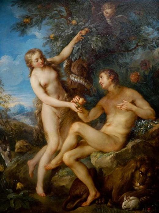 Адам и Ева, Лукас Кранах Старший, 1531