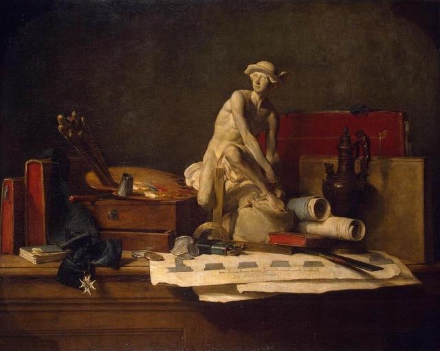 «Медный бак», Жан Батист Симеон Шарден — описание картины