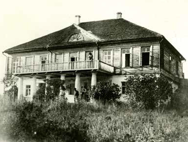 Заросший пруд. Домотканово, Серов, 1888