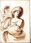Лот с дочерьми, Джованни Франческо Гверрьери, 1617