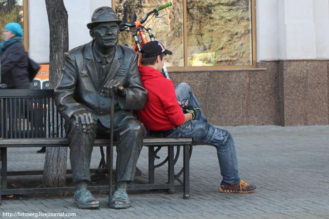 Скульптуры Челябинска: фото, описание