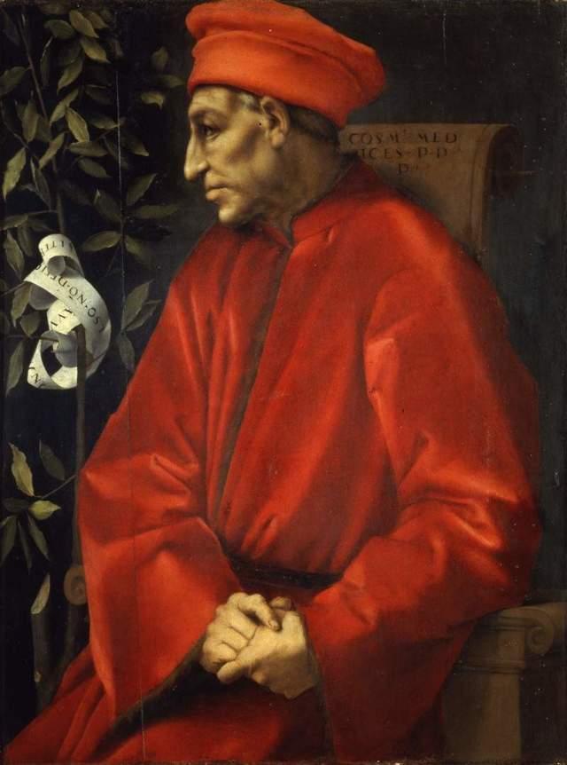 Портрет Козимо Старшего Медичи, Якопо Понтормо