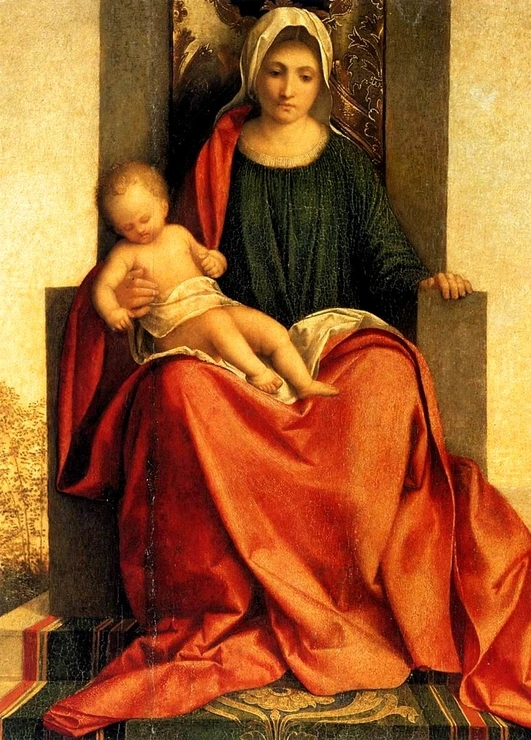 «Мадонна Кастельфранко», Джорджоне — описание картины