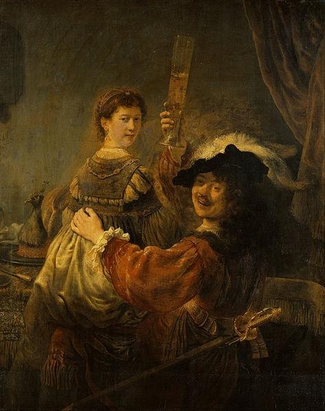 Автопортрет в возрасте 54 лет, Рембрандт, 1660
