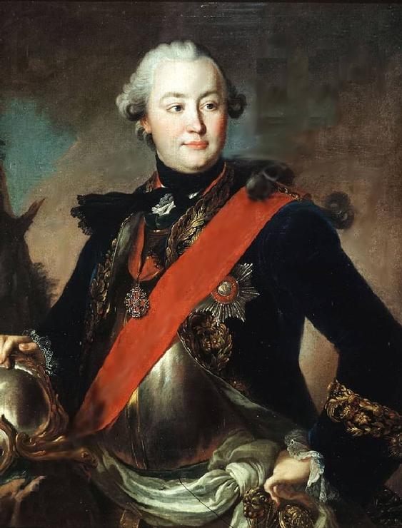 Портрет графа Ивана Григорьевича Орлова, Рокотов - описание