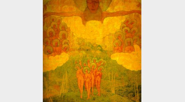 Портрет художника М. В. Матюшина, К.С. Малевич, 1913