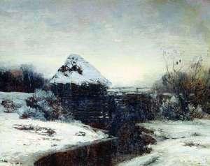 «Вечер», Исаак Ильич Левитан — описание картины